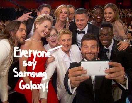 selfie Degeneres at Oscars-joke